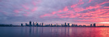 Perth and the Swan River at Sunrise, 14th May 2017
