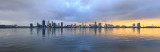 Perth and the Swan River at Sunrise, 22nd July 2017