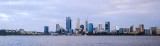 Perth and the Swan River at Sunrise, 16th August 2017