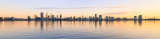 Perth and the Swan River at Sunrise, 4th September 2017