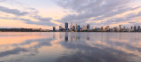 Perth and the Swan River at Sunrise, 17th September 2017