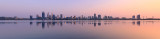 Perth and the Swan River at Sunrise, 18th September 2017