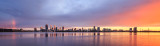 Perth and the Swan River at Sunrise, 27th September 2017