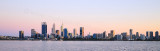 Perth and the Swan River at Sunrise, 6th October 2017