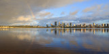 Perth and the Swan River at Sunrise, 7th October 2017