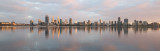 Perth and the Swan River at Sunrise, 11th October 2017