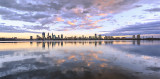 Perth and the Swan River at Sunrise, 14th October 2017