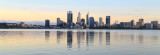Perth and the Swan River at Sunrise, 24th October 2017