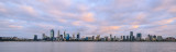 Perth and the Swan River at Sunrise, 25th October 2017