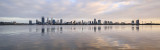 Perth and the Swan River at Sunrise, 29th October 2017