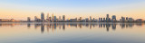 Perth and the Swan River at Sunrise, 30th October 2017