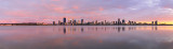 Perth and the Swan River at Sunrise, 29th November 2017