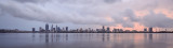 Perth and the Swan River at Sunrise, 4th December 2017
