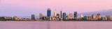 Perth and the Swan River at Sunrise, 6th December 2017