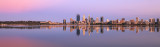 Perth and the Swan River at Sunrise, 10th December 2017