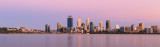 Perth and the Swan River at Sunrise, 11th December 2017