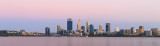 Perth and the Swan River at Sunrise, 16th December 2017