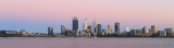 Perth and the Swan River at Sunrise, 20th December 2017
