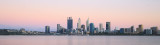Perth and the Swan River at Sunrise, 27th December 2017