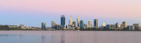 Perth and the Swan River at Sunrise, 28th December 2017