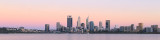 Perth and the Swan River at Sunrise, 30th December 2017