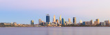 Perth and the Swan River at Sunrise, 13th February 2018