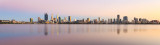 Perth and the Swan River at Sunrise, 1st March 2018