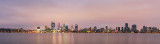 Perth and the Swan River at Sunrise, 7th March 2018