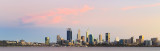 Perth and the Swan River at Sunrise, 12th March 2018