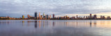 Perth and the Swan River at Sunrise, 16th March 2018