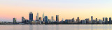 Perth and the Swan River at Sunrise, 28th March 2018