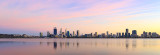 Perth and the Swan River at Sunrise, 30th March 2018