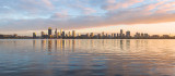 Perth and the Swan River at Sunrise, 3rd May 2018