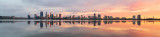 Perth and the Swan River at Sunrise, 13th May 2018