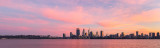 Perth and the Swan River at Sunrise, 16th May 2018