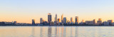 Perth and the Swan River at Sunrise, 20th May 2018
