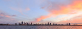 Perth and the Swan River at Sunrise, 31st May 2018