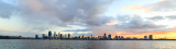 Perth and the Swan River at Sunrise, 19th June 2018
