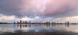 Perth and the Swan River at Sunrise, 5th July 2018