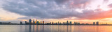 Perth and the Swan River at Sunrise, 17th July 2018