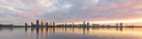 Perth and the Swan River at Sunrise, 19th July 2018