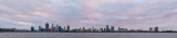 Perth and the Swan River at Sunrise, 29th July 2018
