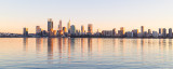 Perth and the Swan River at Sunrise, 23rd August 2018