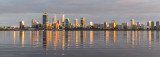 Perth and the Swan River at Sunrise, 1st September 2018