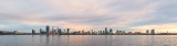 Perth and the Swan River at Sunrise, 6th September 2018
