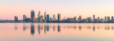 Perth and the Swan River at Sunrise, 16th September 2018