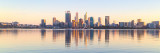 Perth and the Swan River at Sunrise, 17th September 2018