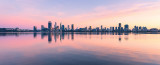 Perth and the Swan River at Sunrise, 22nd September 2018
