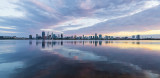 Perth and the Swan River at Sunrise, 30th September 2018