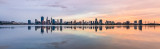 Perth and the Swan River at Sunrise, 2nd November 2018